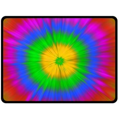 Spot Explosion Star Experiment Double Sided Fleece Blanket (large)  by BangZart