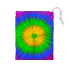 Spot Explosion Star Experiment Drawstring Pouches (large)