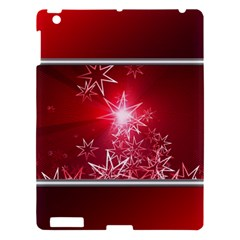 Christmas Candles Christmas Card Apple Ipad 3/4 Hardshell Case by BangZart