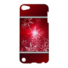 Christmas Candles Christmas Card Apple Ipod Touch 5 Hardshell Case by BangZart