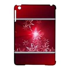 Christmas Candles Christmas Card Apple Ipad Mini Hardshell Case (compatible With Smart Cover)