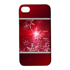 Christmas Candles Christmas Card Apple Iphone 4/4s Hardshell Case With Stand by BangZart
