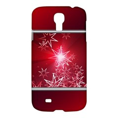 Christmas Candles Christmas Card Samsung Galaxy S4 I9500/i9505 Hardshell Case