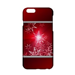 Christmas Candles Christmas Card Apple Iphone 6/6s Hardshell Case