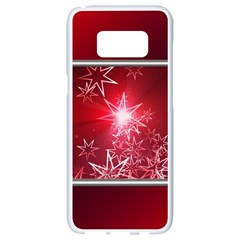 Christmas Candles Christmas Card Samsung Galaxy S8 White Seamless Case