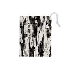 Pattern Structure Background Dirty Drawstring Pouches (small)