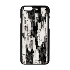 Pattern Structure Background Dirty Apple Iphone 6/6s Black Enamel Case