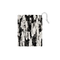 Pattern Structure Background Dirty Drawstring Pouches (xs)