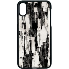 Pattern Structure Background Dirty Apple Iphone X Seamless Case (black)