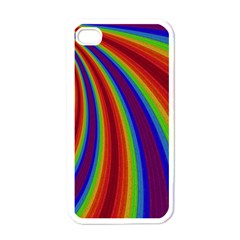 Abstract Pattern Lines Wave Apple Iphone 4 Case (white)