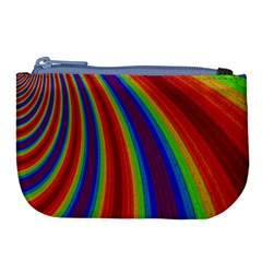 Abstract Pattern Lines Wave Large Coin Purse by BangZart