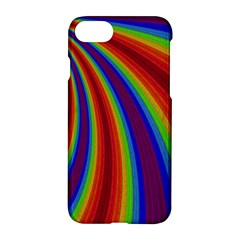Abstract Pattern Lines Wave Apple Iphone 7 Hardshell Case