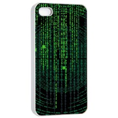 Matrix Communication Software Pc Apple Iphone 4/4s Seamless Case (white)