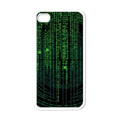 Matrix Communication Software Pc Apple Iphone 4 Case (white)
