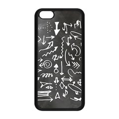 Arrows Board School Blackboard Apple Iphone 5c Seamless Case (black)