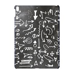 Arrows Board School Blackboard Apple Ipad Pro 10 5   Hardshell Case by BangZart