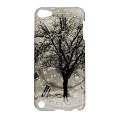 Snow Snowfall New Year S Day Apple Ipod Touch 5 Hardshell Case by BangZart