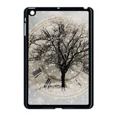 Snow Snowfall New Year S Day Apple Ipad Mini Case (black) by BangZart