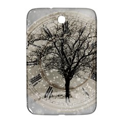 Snow Snowfall New Year S Day Samsung Galaxy Note 8 0 N5100 Hardshell Case  by BangZart
