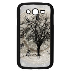 Snow Snowfall New Year S Day Samsung Galaxy Grand Duos I9082 Case (black)
