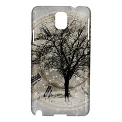 Snow Snowfall New Year S Day Samsung Galaxy Note 3 N9005 Hardshell Case
