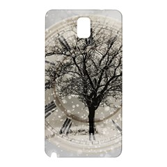 Snow Snowfall New Year S Day Samsung Galaxy Note 3 N9005 Hardshell Back Case