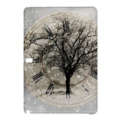 Snow Snowfall New Year S Day Samsung Galaxy Tab Pro 10 1 Hardshell Case by BangZart