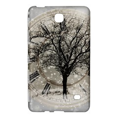 Snow Snowfall New Year S Day Samsung Galaxy Tab 4 (8 ) Hardshell Case  by BangZart