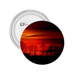 Tree Series Sun Orange Sunset 2 25  Buttons by BangZart