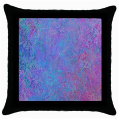 Background Texture Pattern Throw Pillow Case (black) by BangZart