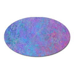 Background Texture Pattern Oval Magnet