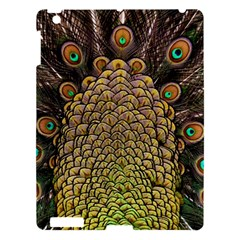 Peacock Feathers Wheel Plumage Apple Ipad 3/4 Hardshell Case