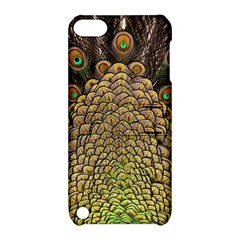 Peacock Feathers Wheel Plumage Apple Ipod Touch 5 Hardshell Case With Stand by BangZart
