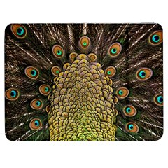 Peacock Feathers Wheel Plumage Samsung Galaxy Tab 7  P1000 Flip Case by BangZart