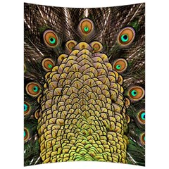 Peacock Feathers Wheel Plumage Back Support Cushion by BangZart