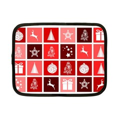 Christmas Map Innovative Modern Netbook Case (small)  by BangZart