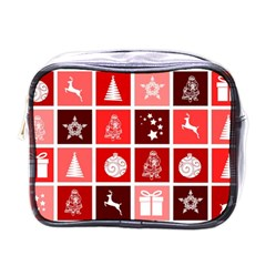 Christmas Map Innovative Modern Mini Toiletries Bags by BangZart