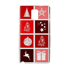 Christmas Map Innovative Modern Samsung Galaxy Note 4 Hardshell Case by BangZart