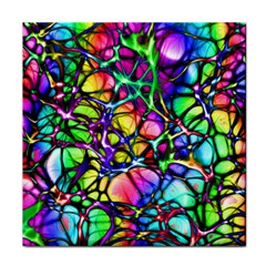 Network Nerves Nervous System Line Face Towel by BangZart