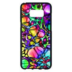 Network Nerves Nervous System Line Samsung Galaxy S8 Plus Black Seamless Case by BangZart