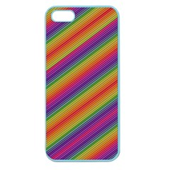 Spectrum Psychedelic Apple Seamless Iphone 5 Case (color) by BangZart