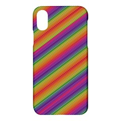 Spectrum Psychedelic Apple Iphone X Hardshell Case