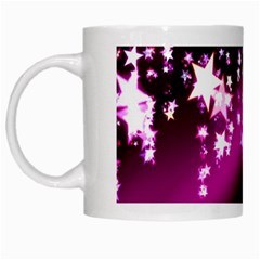 Background Christmas Star Advent White Mugs