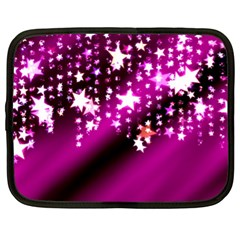 Background Christmas Star Advent Netbook Case (xl)  by BangZart