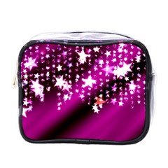 Background Christmas Star Advent Mini Toiletries Bags by BangZart