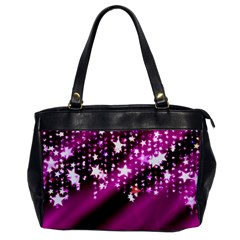Background Christmas Star Advent Office Handbags by BangZart