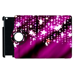 Background Christmas Star Advent Apple Ipad 3/4 Flip 360 Case by BangZart