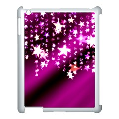 Background Christmas Star Advent Apple Ipad 3/4 Case (white) by BangZart