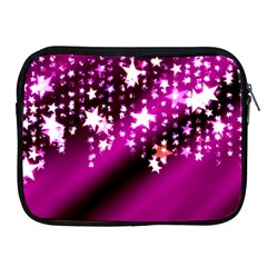 Background Christmas Star Advent Apple Ipad 2/3/4 Zipper Cases by BangZart