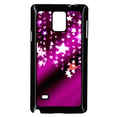 Background Christmas Star Advent Samsung Galaxy Note 4 Case (black) by BangZart